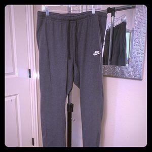 Nike lightweight light Gray lounge pants!  NEW!!